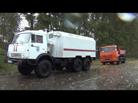 В Комсомольске-на-Амуре подразделения МЧС России  продолжают ликвидировать последствия тайфуна