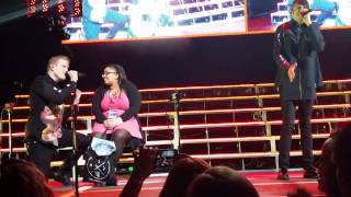 Pentatonix in Austin 03-26-15 Chair Girl  Let