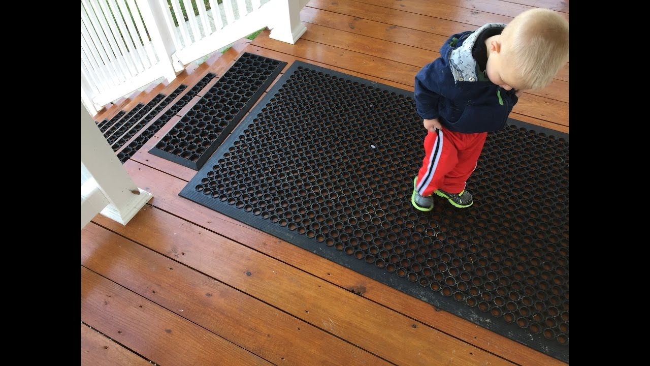 Prevent Slips And Falls On Icy Or Wet Steps And Decks   Without Salt!