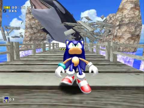 Homestar Runner sucks at Sonic Adventure