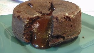 Chocolate Lave Cake Made In The Air Fryer/ Air Fryer Cooking