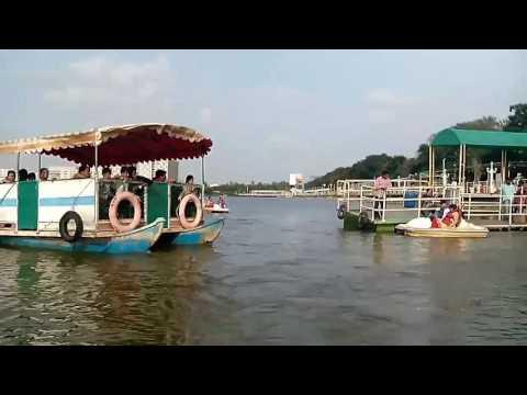 Lumbini garden boating video