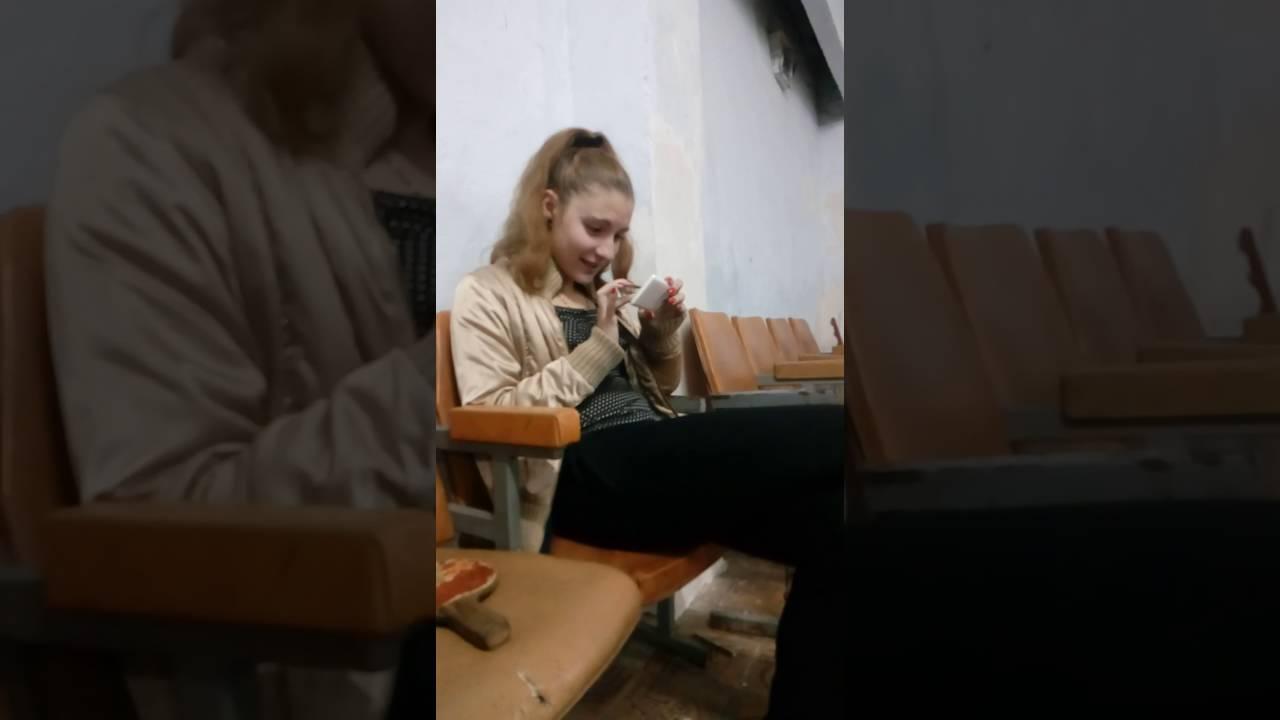 спалил девушку за просмотром порно
