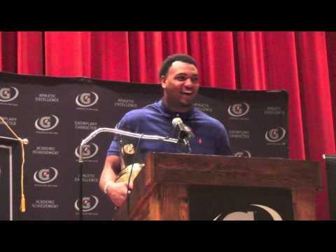 Andrew Brown Gatorade National Football Player of the Year