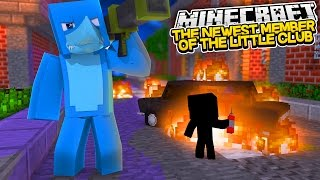 A NEW MEMBER TO THE LITTLE CLUB !??? Sharky Minecraft Adventure (custom Roleplay)