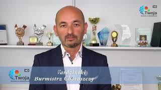 Burmistrz Choroszczy Robert Wardziński zaprasza na Bieg Niepodległości