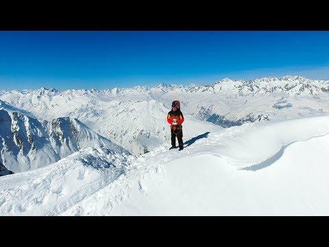 SWITZERLAND - BEST POWDER SKI RESORT BY DRONE   Andermatt - Best Travel Destination in Switzerland