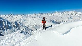 Powder Destinations - SWITZERLAND - BEST POWDER SKI RESORT BY DRONE   Andermatt - Best Travel Destination in Switzerland