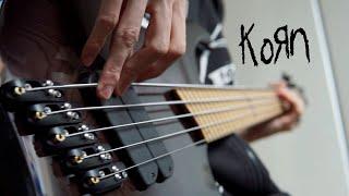 KORN - Insane | Bass Cover