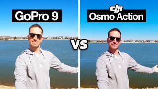 $450 GoPro HERO 9 vs $200 DJI Osmo Action! (Updated Comparison Review)