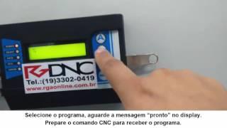 Receber programa no CNC do RGDNC P COMANDO FANUC