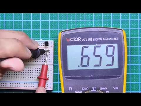 How to test a transistor using a digital Multimeter