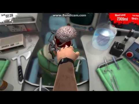 Обзор игры Surgeon Simulator 2013 операция на мозг