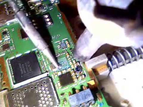 Nokia 2690 repairing water damage part2