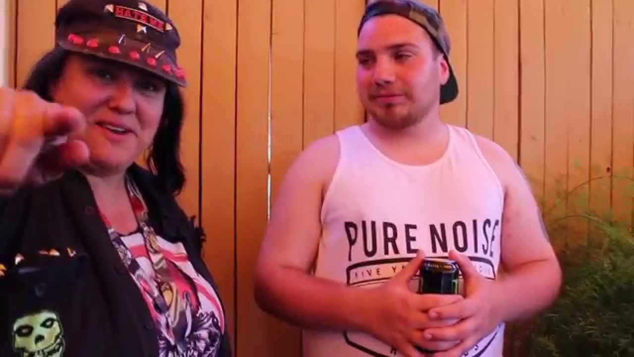 Jake mcelfresh of front porch step interview with music junkie press at warped tour 2014