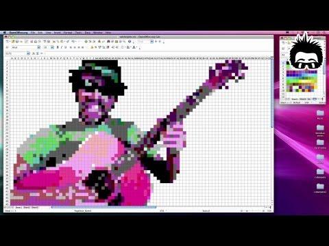 Stop-Motion Excel (Spreadsheet Animation) - Joe Penna