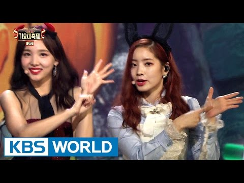 TWICE - Cheer Up [2016 KBS Song Festival / 2017.01.01]