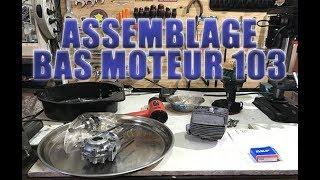 Je remonte le bas moteur de ma mobylette 103 Peugeot vogue