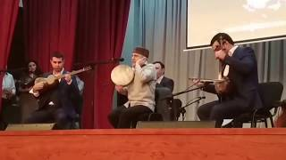 ADNSU-da Alim Qasimovla görüşdən gözəl bir ifa