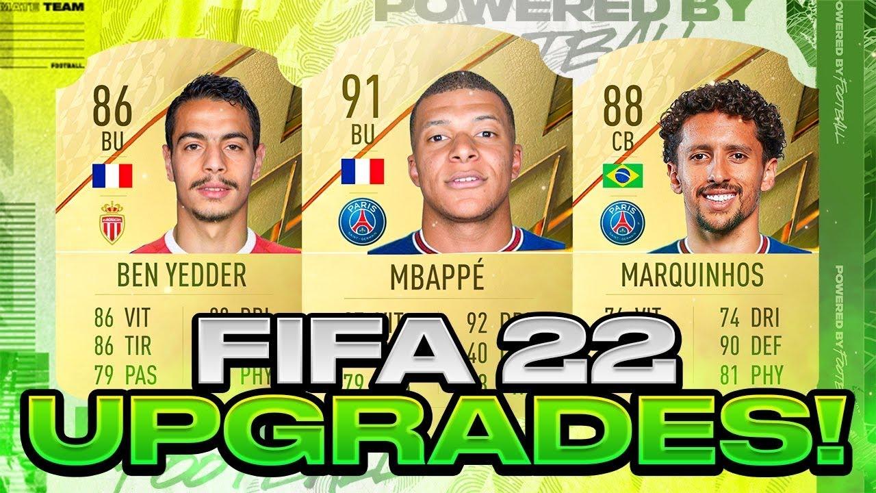 LES PLUS GROS UPGRADES EN LIGUE 1 SUR FIFA 22 ! #1