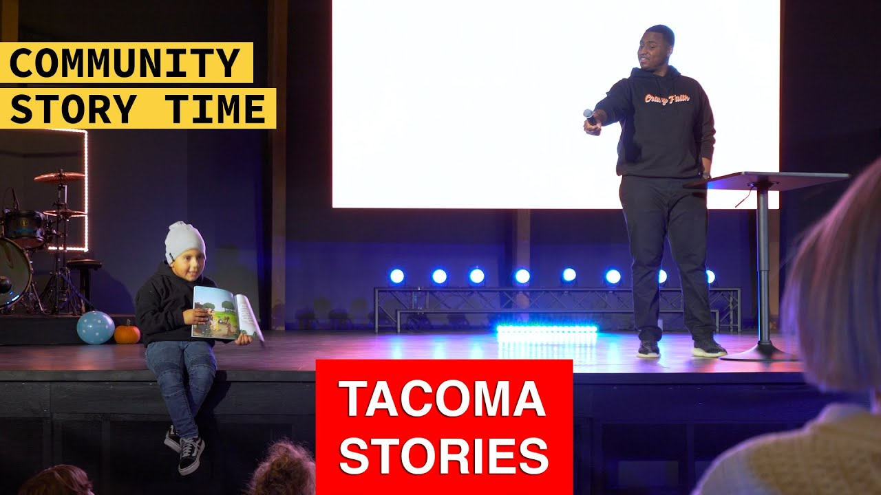 Community Story Time |  John Gaines | Tacoma Stories