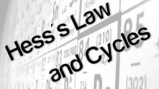 Hess's Law and Cycles
