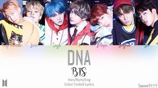 Video BTS 방탄소년단 - DNA 디엔에이 Lyrics (Han/Rom/Eng) Color Coded download MP3, 3GP, MP4, WEBM, AVI, FLV Juli 2018