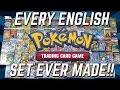 OPENING EVERY PACK OF POKEMON CARDS EVER MADE!! | 100,000 SUBSCRIBER CELEBRATION!