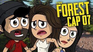 TERMINAMOS LA GRAN MURALLA Y NOS ATACARON CANÍBALES CON MOLOTOVS !! | The Forest Coop #7