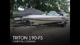 [UNAVAILABLE] Used 2002 Triton 190-FS in Cankton, Louisiana