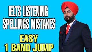 Ielts Listening Most Misspelt Words | Ielts Listening Commonly Spelling Mistakes | Listening Answers
