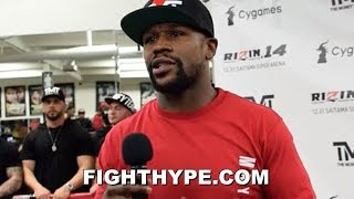 MAYWEATHER CHECKS MCGREGOR & KHABIB; REMINDS THEM WHAT HAPPENS WHEN THEY RUN THEIR MOUTH