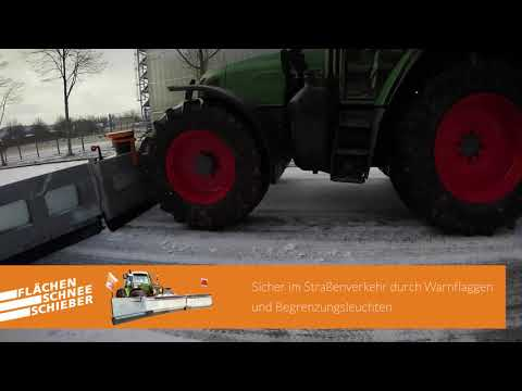 Flächenschneeschieber 2019: Endlich Flotte im Winterdienst-Einsatz