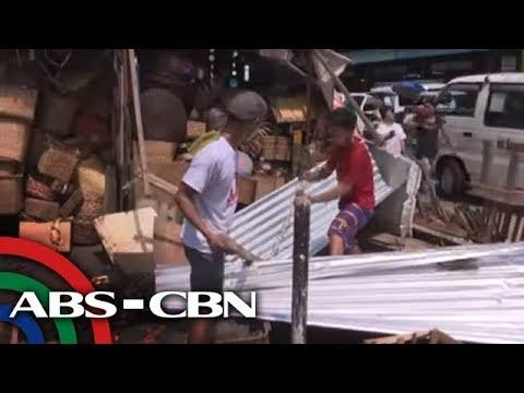 TV Patrol: 'Sagabal' na paninda at sasakyan, tinanggal sa Maynila, QC