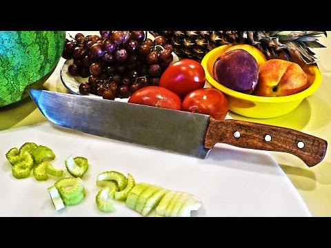 How to Make a Homemade Chef's Knife