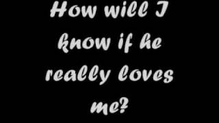 Whitney Houston - How Will I Know (Lyrics)