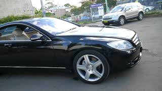 2007 Mercedes Benz CL500 Coupe in black