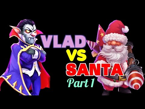 Castle Clash: Vlad Dracula Vs. Santa Boom - Part 1