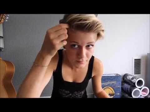 Frisuren Fur Sehr Kurze Haare Youtube