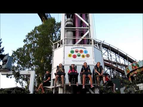Linnanmäki Amusement Park - Helsinki, Short HD Video Tour - Finland