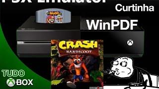 Emulador De Playstation WinPDF Xbox One Crash Em Teste 40 Frames!!