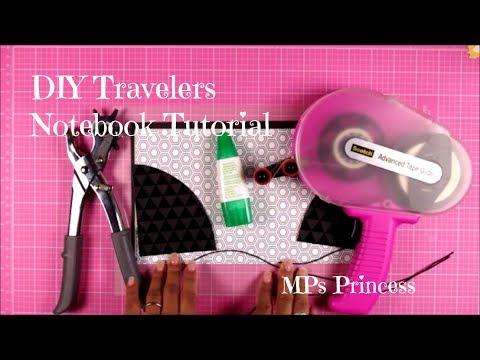 DIY Travelers Notebook (english/deutsch)