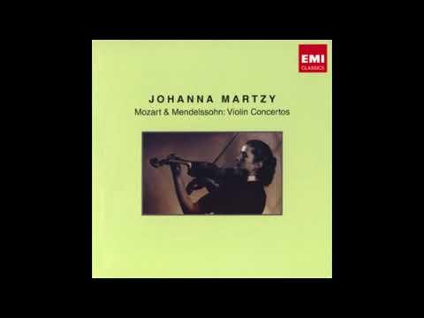 MENDELSSOHN: Violin Concerto in E minor op. 64 / Martzy · Sawallisch · Philharmonia Orchestra