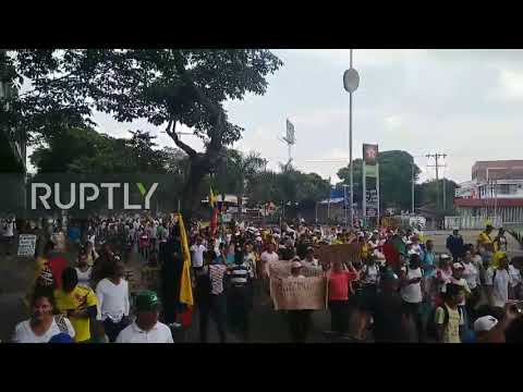 Colombia: Thousands March In Cali To Join Nationwide Strike Against Policies Of Ivan Duque