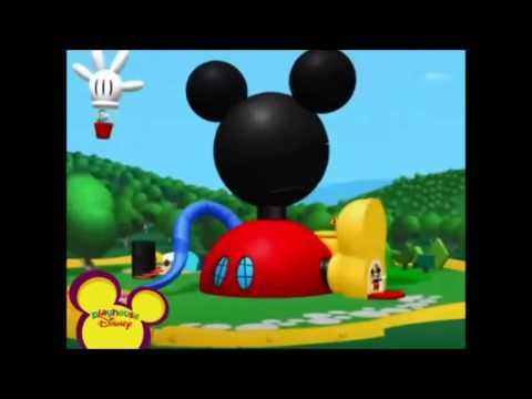 Vamos a la casa de mickey mouse youtube - Youtube casa mickey mouse ...