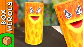 Dr Hot - DIY Paper Roll Crafts | Box Heroes on Box Yourself