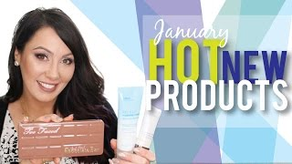 Hot NEW Beauty Products - January 2015 | Makeup Geek