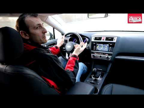 Новый Subaru Outback на спринт-тесте Авторевю