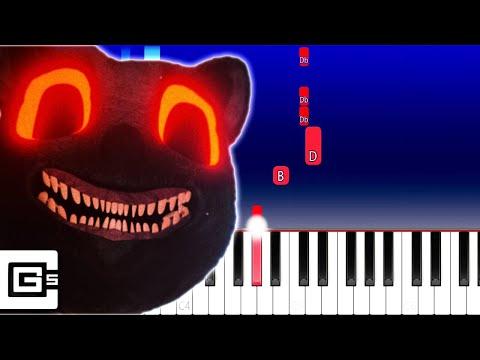 CG5 - He's the Cartoon Cat (Piano Tutorial)