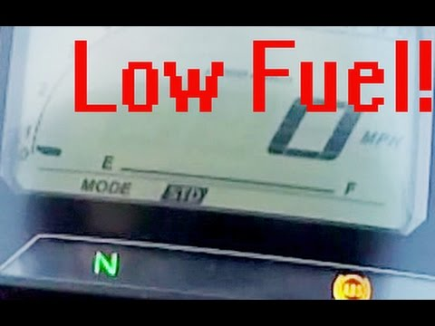 Yamaha MT-09 Tracer FJ-09 Low Fuel Warning Panic